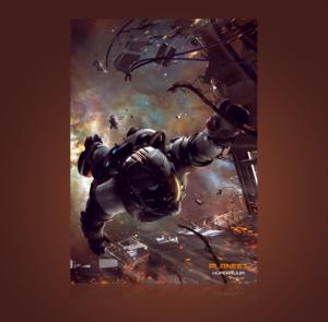 Hüperruum poster A3